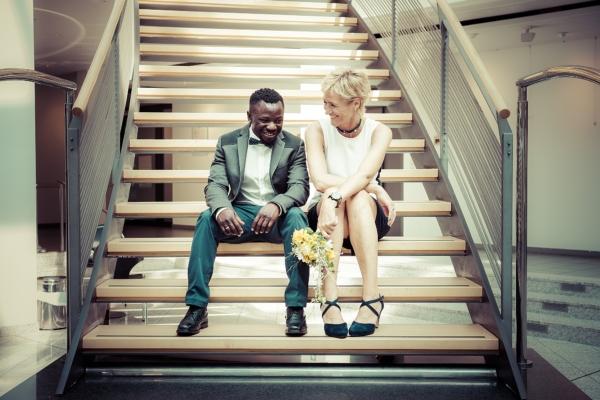 Maren & Bamba – Hochzeit im Standesamt Achim